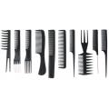 comb sets black